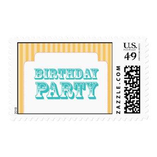 Western Carnival - Birthday Party - YB BP Stamp