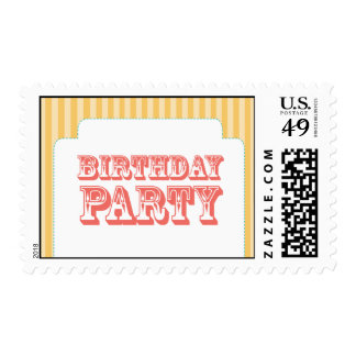 Western Carnival - Birthday Party - YC BP Stamps