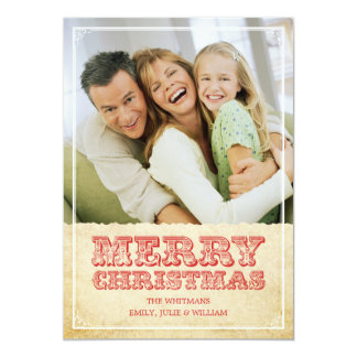 Western Christmas Cards Invites
