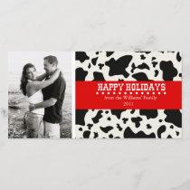 Western Christmas Holiday Card