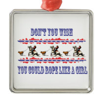Western Christmas Ornament Rodeo Calf Roping