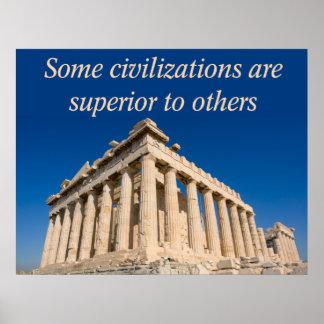 Western Civilization Poster
