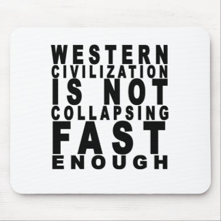 western civilization t shirts.png mouse pad