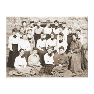 Western College Class of 1905 Canvas Prints