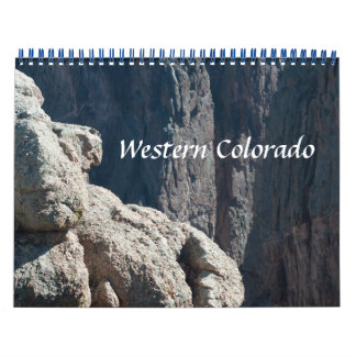 Western Colorado Photo Calendar for 2015