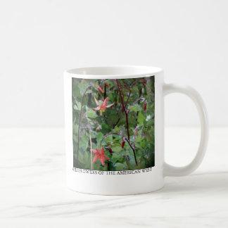 Western Columbine Classic White Coffee Mug
