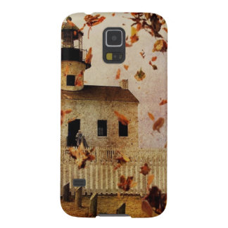 Western Country Church Chapel Fall Autumn leaves Case For Galaxy S5