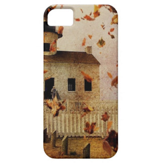 Western Country Church Chapel Fall Autumn leaves iPhone SE/5/5s Case