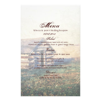western country mountain cabin wedding stationery
