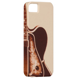 Western Country music guitar vintage iphone5 case iPhone 5 Cover