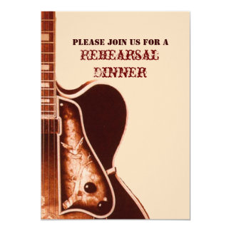 Western Country Rehearsal Dinner  Invitation