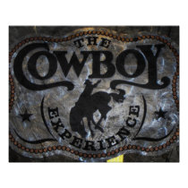 western country Stampede Horse cowboy rodeo Poster