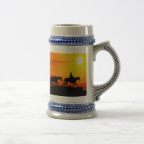 Western cowboy-Cowboy-texas-western-country Beer Stein
