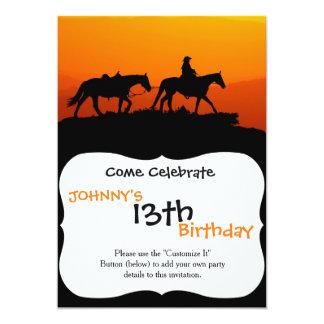Western cowboy-Cowboy-texas-western-country Card