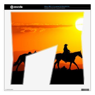Western cowboy-Cowboy-texas-western-country Skins For Xbox 360 S