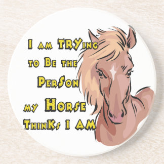 Western Cowboy Cowgirl Horse Barn Rodeo Coasters