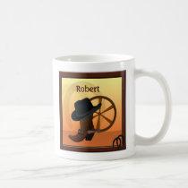 Western Cowboy Custom Mug