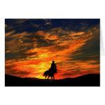 Western Cowboy Greeting Card