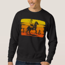 Western Cowboy Rodeo Horse Riding Sweatshirt