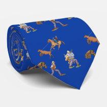 Western Cowboy Rodeo Ranch Necktie