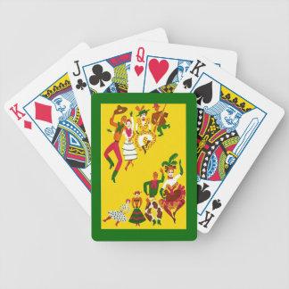 Western Cowboys Festive Poker Saloon Playing Cards