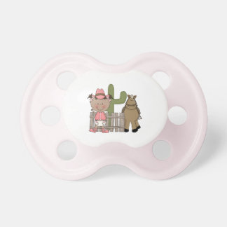 Western Cowgirl Pony Desert Scene BooginHead Pacifier