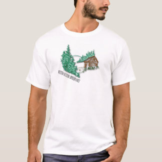 Western Culture Conservancy Mountain Cabin T-Shirt