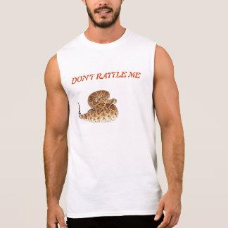 Western Diamondback Rattlesnake. Sleeveless T-shirt