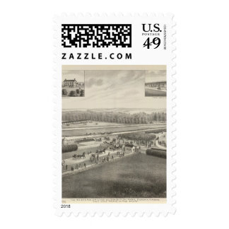 Western Driving and Exhibition Park, Kansas Postage Stamps