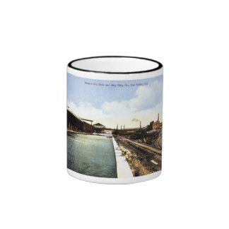 Western Dry Dock and Shipbuilding Company Ringer Mug