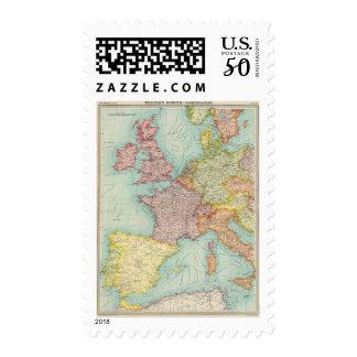 Western Europe communications Postage