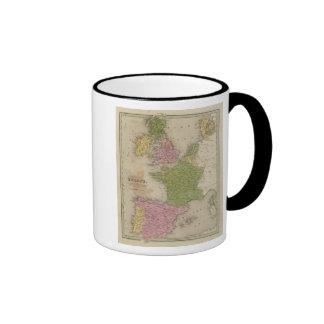 Western Europe Ringer Mug