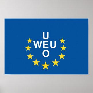 Western European Poster