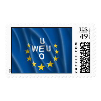 WESTERN EUROPEAN UNION FLAG STAMPS