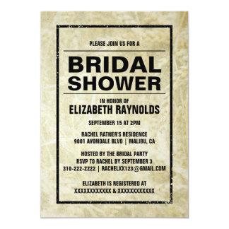 Western Farm Bridal Shower Invitations