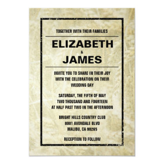 """Western Farm Wedding Invitations 5"""" X 7"""" Invitation Card"""