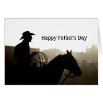 Western Father's Day Card