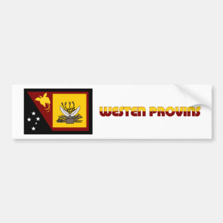 Western (Fly River)  Province, PNG Bumper Stickers