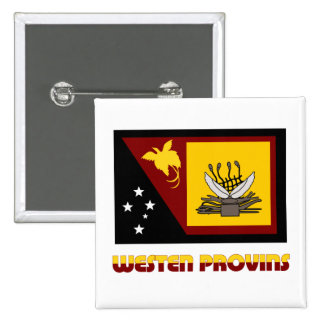 Western (Fly River)  Province, PNG Pinback Button