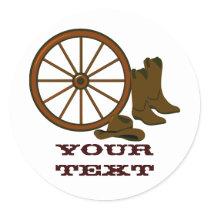 Western Gear Sticker
