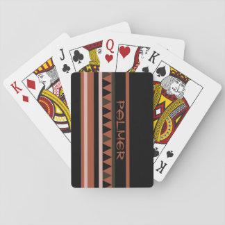 Western Geometric Rustic Country Card Decks