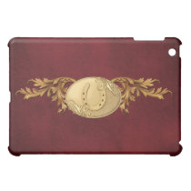 Western Gold Belt Buckle Design Case For The iPad Mini