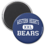 Western Heights Bears Middle Hagerstown Fridge Magnet