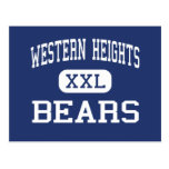 Western Heights Bears Middle Hagerstown Postcards