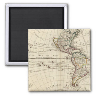 Western Hemisphere 10 Magnet