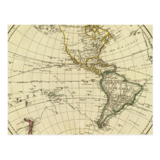 Western Hemisphere 11 Postcard