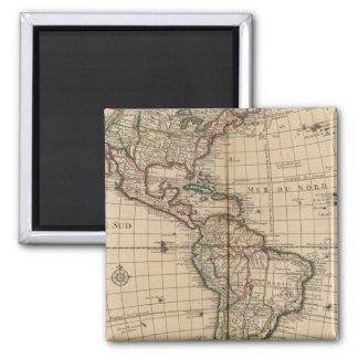 Western Hemisphere 12 Magnet