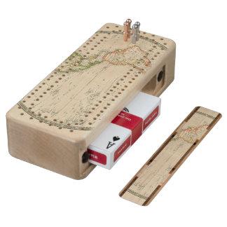 Western Hemisphere 13 Maple Cribbage Board