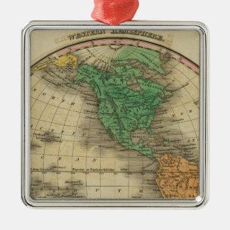 Western Hemisphere 16 Christmas Tree Ornaments