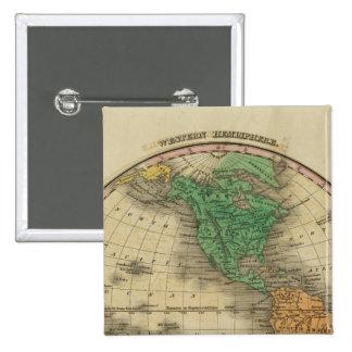 Western Hemisphere 16 Pinback Button
